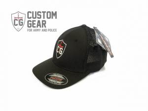 CG Flexfit Trucker mesh Cap Black