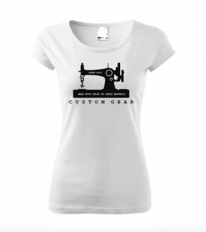 RETRO MACHINE WOMEN's TOP WHITE