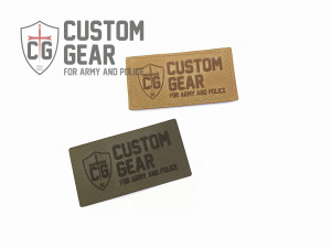 Custom Gear LASER PATCH