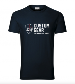 CUSTOM GEAR MEN's SHIRT DARK BLUE