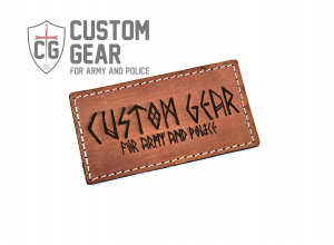 Custom Gear LEATHER PATCH