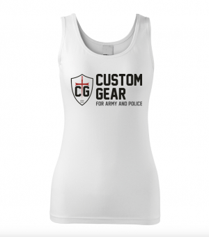 CUSTOM GEAR WOMEN's SHIRT WHITE