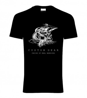 VIKING MEN's SHIRT BLACK